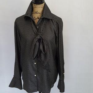Ralph Lauren silk blouse.